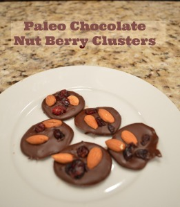 Paleo ChocoNutBerry Clusters