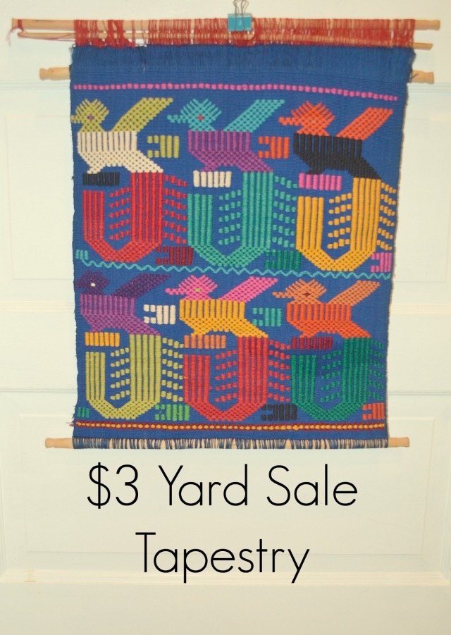 $3 Yard Sale Tapestry