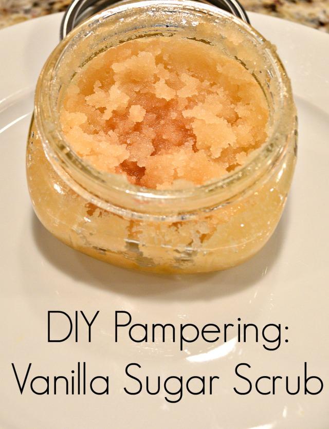 DIY Vanilla Sugar Scrub