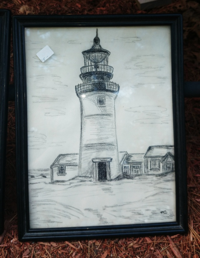 Framed Lighthouse Sketches