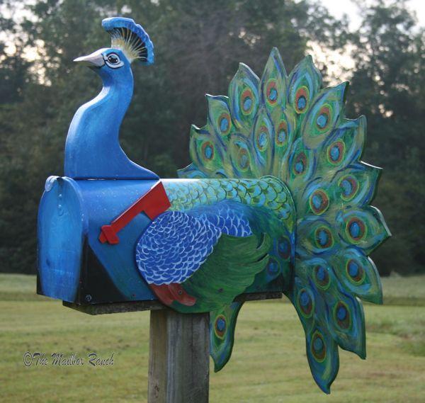 PeacockMailbox