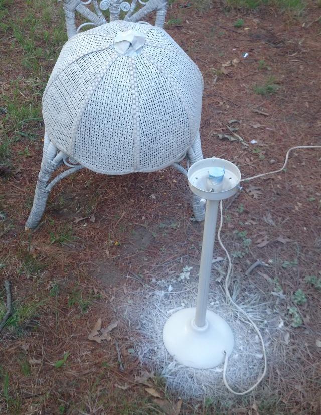 Sprayed Lamp