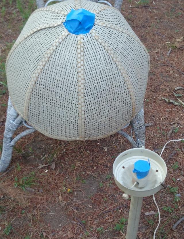 Taped Lamp
