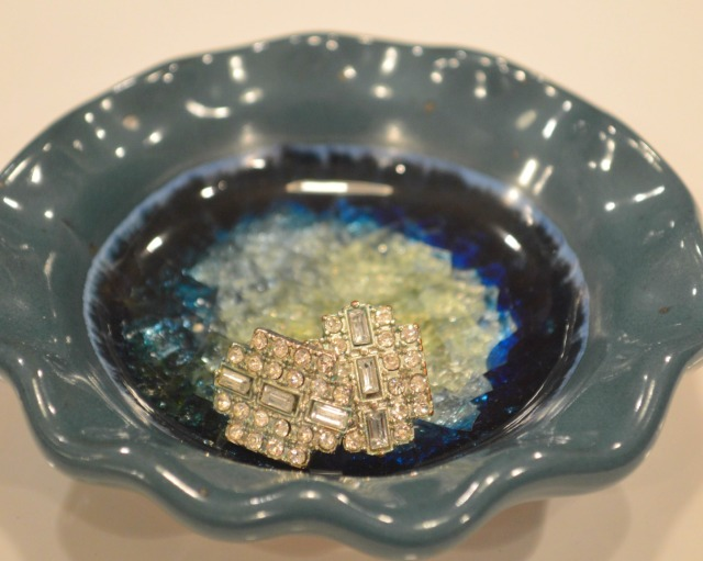 Tiny Jewelry Dish Close Up