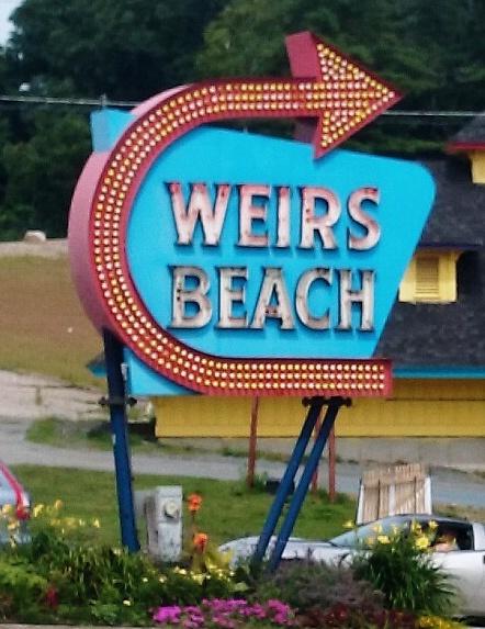 Weirs Sign