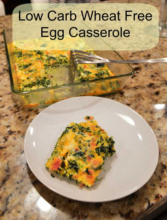 Wheat Free Egg Casserole