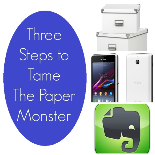 Three Steps to Tame The Paper Monster