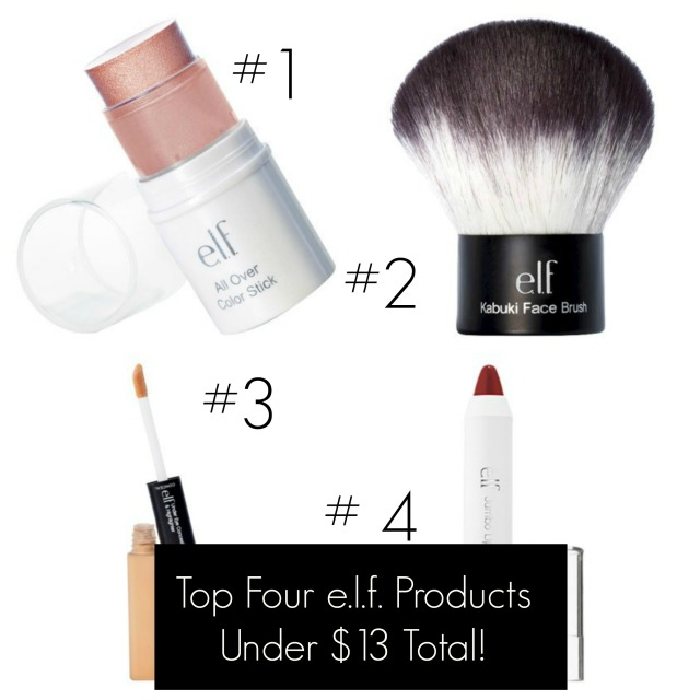 Top 4 elf Products Under $13 Total